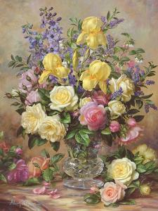June's Floral Glory by Albert Williams