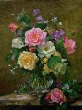 A Summer Floral Arrangement, 1996-Albert Williams-Framed Premier Image Canvas