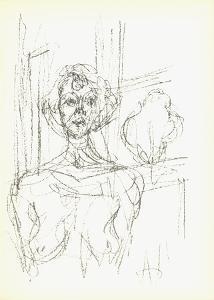 Annette (Lg) by Alberto Giacometti