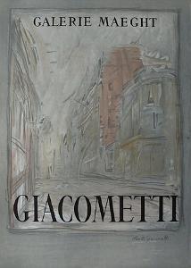 Expo Galerie Maeght 54 by Alberto Giacometti