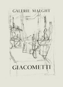 Galerie Maeght, 1951 by Alberto Giacometti