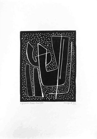 Untitled I (Fond Noir)