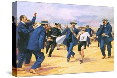 Dorando Pietri, a Gallant Marathon Runner from the 1908 London Olympics