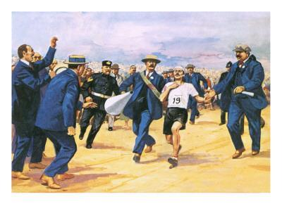 Dorando Pietri, a Gallant Marathon Runner from the 1908 London Olympics