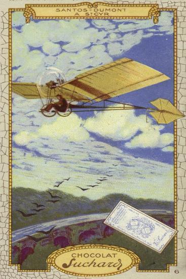 Alberto Santos-Dumont at St Cyr, France--Giclee Print