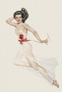 Varga Girl, February 1943 by Alberto Vargas