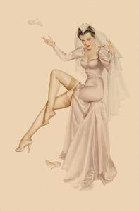 Varga Girl, June 1941 by Alberto Vargas