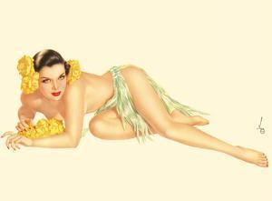 Varga Girl - June, 1943 by Alberto Vargas