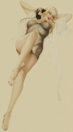 Varga Girl, October 1940