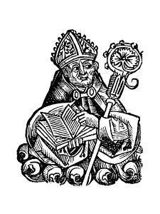 Albertus Magnus (C1200-128) German-Born Dominican Friar, 1493