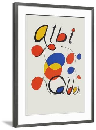 Albi Calder-Alexander Calder-Framed Premium Edition