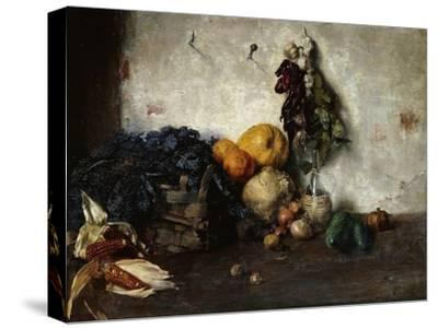 A Still-Life of Vegetables by a Wall, 1890
