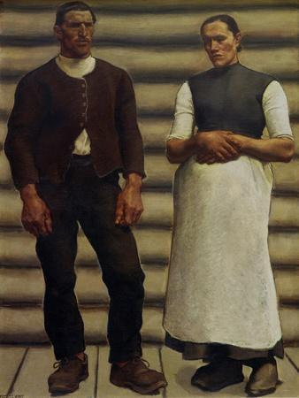 Das Menschenpaar - The human couple,1910.