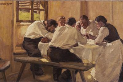 Lunch (The Soup, Version I), 1910