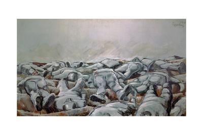 Missa Solemnis. Oil on canvas (1916).
