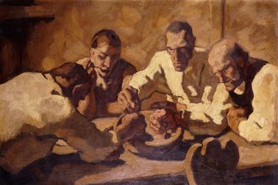 The Meal (First Constitution); Die Mahlzeit (Erste Fassung), 1920