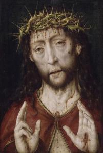 Christ de douleur by Albrecht Bouts
