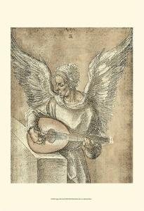 Angel with Lute by Albrecht D?rer