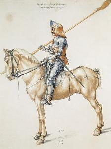 Austria, Vienna, Knight by Albrecht D?rer