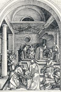 Christ Among the Doctors, 1506 by Albrecht D?rer