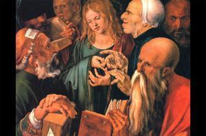 Christ Teaches the Learned Men by Albrecht D?rer