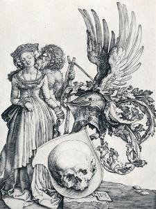 Coat of Arms with a Skull, 1503 by Albrecht D?rer