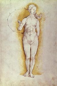 Female Nude by Albrecht D?rer