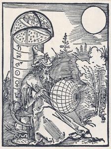Mediaeval Astronomer by Albrecht D?rer