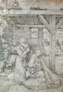 Nativity, Pen and Ink by Albrecht D?rer