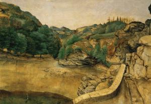 Path in the Alps, 1495 by Albrecht D?rer