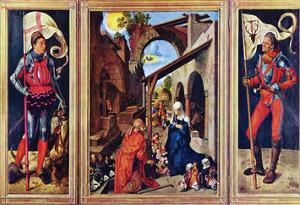 Paumgartner Altar, the General View by Albrecht D?rer