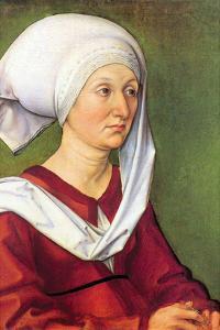 Portrait of Barbara Durer, Born Holper by Albrecht D?rer
