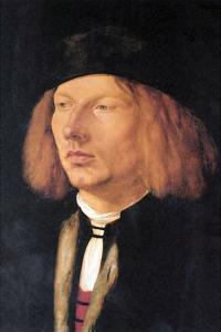 Portrait of Burkard Von Speyer by Albrecht D?rer
