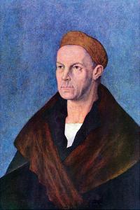 Portrait of Jakob Fugger by Albrecht D?rer