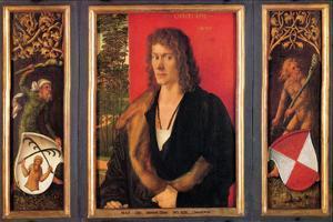 Portrait of Oswald Krell by Albrecht D?rer