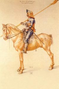 Rider in the Armor by Albrecht D?rer