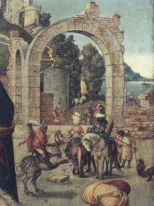 Ruins of an Arch, Detail from Adoration of Magi, 1504 by Albrecht D?rer
