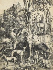 Saint Eustache by Albrecht D?rer