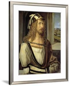 Self-portrait, 1498, German School by Albrecht D?rer