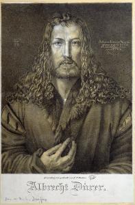 Self Portrait Aged 28, 1500 by Albrecht D?rer