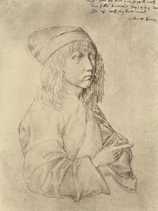 Self Portrait at the Age of Thirteen, 1484 by Albrecht D?rer