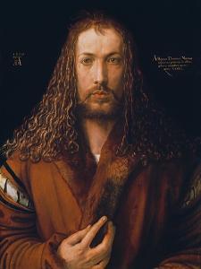 Self Portrait in a Fur-Trimmed Coat, 1500 by Albrecht D?rer