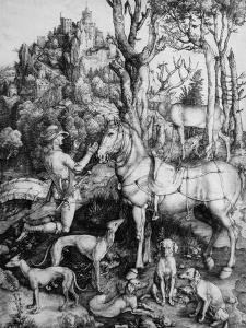 St. Eustace by Albrecht D?rer