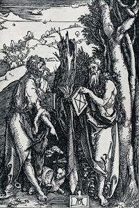 St John the Baptist and St Onuphrius, 1504 by Albrecht D?rer