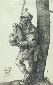 The Bagpiper, 1514 by Albrecht D?rer