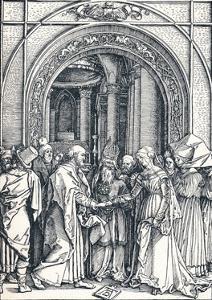The Betrothal of the Virgin, 1506 by Albrecht D?rer
