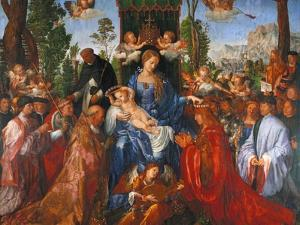The Festival of the Rosary, 1506 by Albrecht D?rer