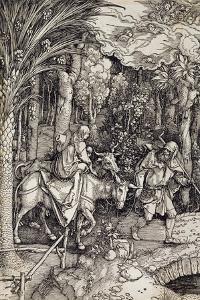 The Flight into Egypt, C.1500 by Albrecht D?rer