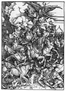 The Four Horsemen of the Apocalypse by Albrecht D?rer