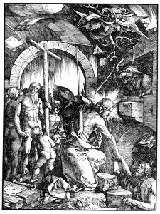 The Harrowing of Hell or Christ in Limbo, from the Large Passion, 1510 by Albrecht D?rer
